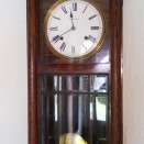 Photo:Clock presented to John Stein on the occasion of his marriage in 1923, by his fellow employees at Addiewell Oil Works.