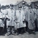 Photo:John Stein, 2nd left, and a group of colleagues on a visit to Westwood Oil Works.