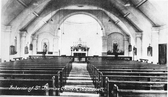 Photo:The chapel could seat 550 people.