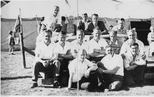Photo:Addiewell Gala Day Committee, 1950s.
