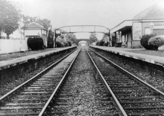 Photo:Addiewell Station, pre-1960s