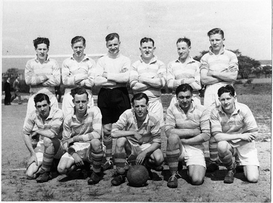Photo:Loganlea Amateurs, c.1950.