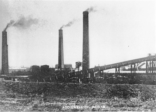 Photo:part of Addiewell Oil Works