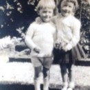 Photo:Jim and Margaret Stein, children of John and Meg Stein, early 1930s.